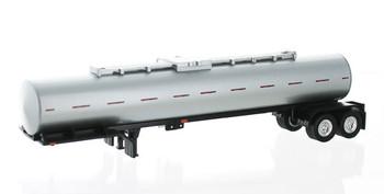 HO 1:87 TON 94924 Chemical Tanker Trailer Only - Silver Body/Black Frame