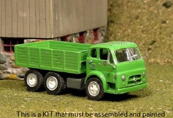 HO 1:87 Sylvan V-339 - 1953-68 Diamond T 734 Tandem Axle Grain Truck  - KIT