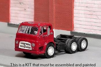 HO 1:87 Sylvan V-337 - 1953-68 Diamond T 734 Tandem Axle Tractor - KIT