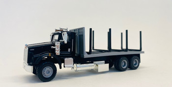 HO 1:87 Promotex # 6602 KW T-800 Stake Bed Straight Truck