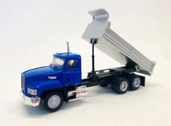 HO 1:87 Promotex # 6599 Mack Dump Tri-Axle Truck - Black