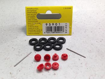HO 1/87 Busch # 95901 IFA W50L High Pressure Tires ~11mm diameter