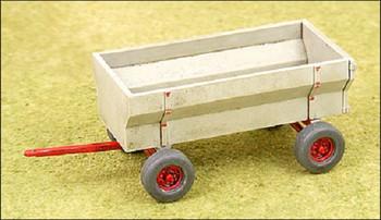 HO 1:87 GHQ # 60008 Farm Bin Wagon KIT