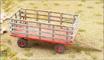 HO 1:87 GHQ # 60012  Farm Hay Wagon Kit