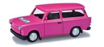 HO 1/87 Herpa # 27373  Trabant 1.1 The Last Trabant Produced - Pink