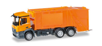 HO 1/87 Herpa #307048 Mercedes Antos Garbage Truck Undecorated