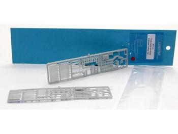 HO 1/87 Lonestar 12106 Trailer Detail Set (2 pc.) Bulkhead,Tool Box,Landing Gear