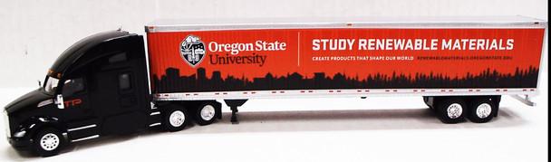 HO 1:87 TNS-58122 Trucks n' Stuff Kenworth T680 w/53' Dry Van Timber Products