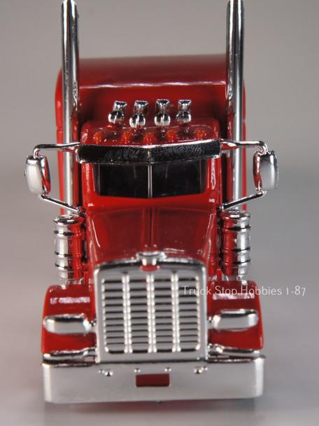 HO 1:87 TSH #501 Peterbilt 389 Tandem Axle Tractor - Viper Red