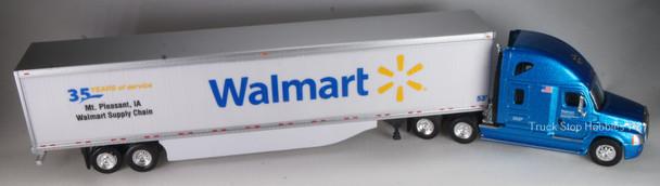 "HO 1:87 TNS # 39111 Walmart Freightliner Cascadia w/53' Dry Van ""Special Edition Mt. Pleasant IA"""