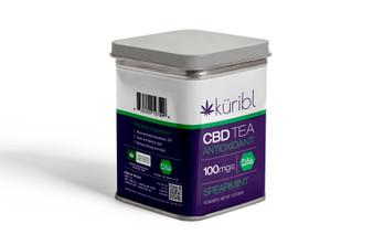 1000mg CBD Tea Tin - Spearmint