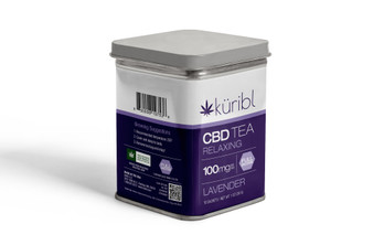 1000mg CBD Tea Tin - Lavender