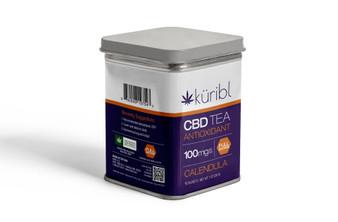 1000mg CBD Tea Tin - Calendula