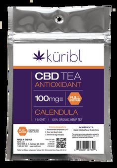100mg CBD Tea - Calendula Single