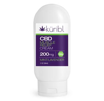 200mg CBD Cream 2 oz. - Mint Lavender