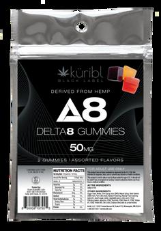 Blk Label 25MG Gummies - 2 pack