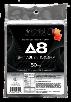 Blk Label 10MG Gummies - 5 count bag