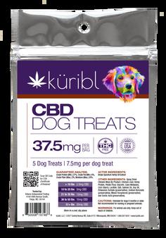 Dog Treats - 7.5MG (37.5mg/bag) - 5 count