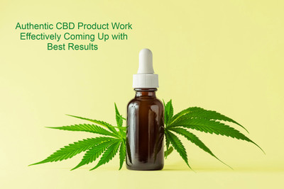 Authentic CBD Product Work Effectively Coming Up With Best Results