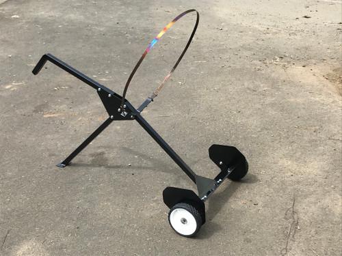 Charcoal Maker Cart for holding barrel