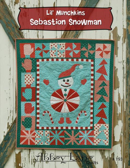 Lil' Munchkins Sebastion Snowman  #193