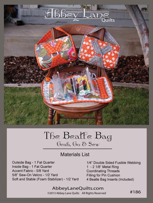 "The ""Beatle"" Bag #186"