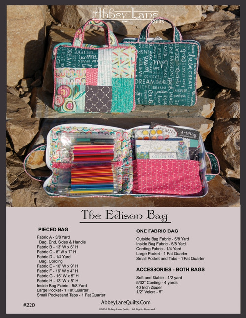 The Edison Bag #220