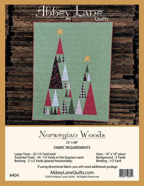 Norwegian Woods #404 CORRECTIONS