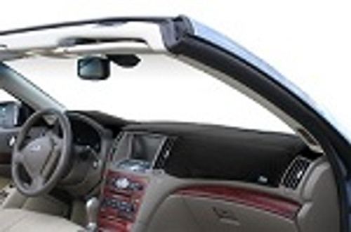 Fits Toyota Previa 1991-1993 w/ Alarm Dashtex Dash Cover Mat Black