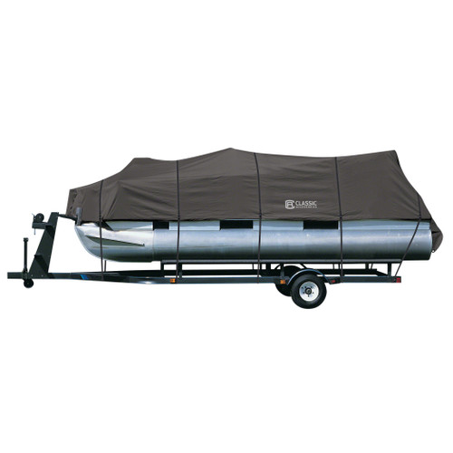 """StormPro Pontoon Boat Cover 21' to 24'L beam width 96"""""""