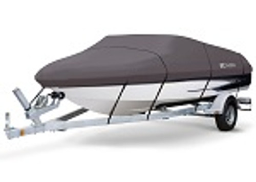Storm Pro Boat Cover 14-16 ft V-Hull Runabout Boats | Beam Width to 90""