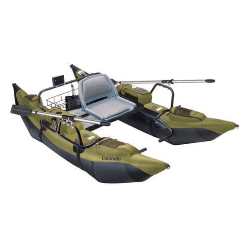 Colorado Pontoon Boat Sage/Black