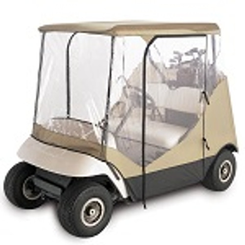Classic Accessories Fairway 2 Person Travel 4-Sided Golf Car Enclosure | 72052