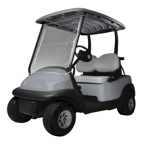 Classic Accessories Roll Up Front Instant Vinyl Golf Cart Windshield Cover   72033