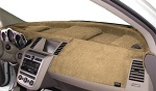 Fits Hyundai Equus No HUD 2014-2016 Velour Dash Cover Mat Vanilla