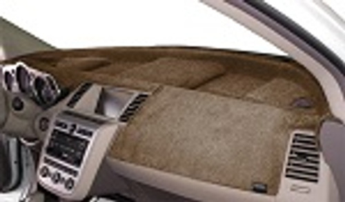 Fits Hyundai Genesis Coupe 2010-2012 Velour Dash Cover Mat Mocha
