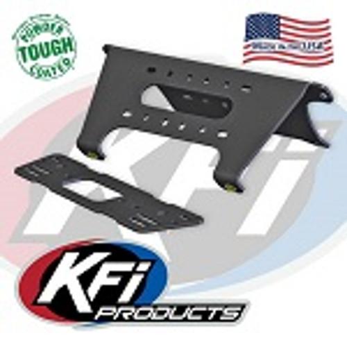 2013-2015 Polaris Ranger XP900 KFI Front Standard Winch Mount Mounting Plate