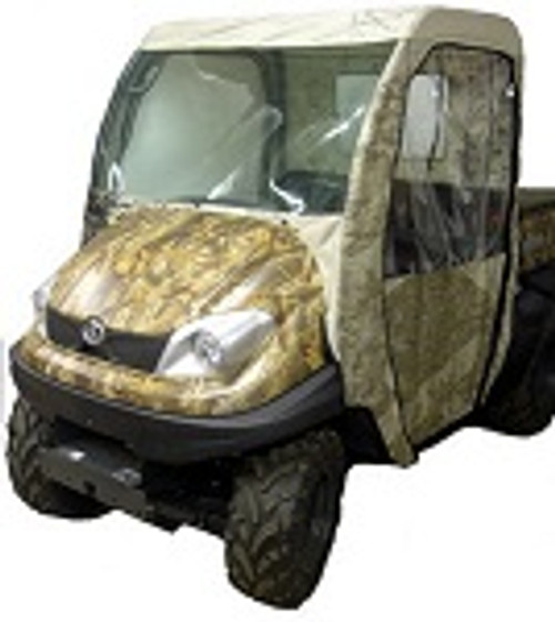 Kubota RTV 400 500 UTV Full Cabin Cab Enclosure System | Custom Made to Order
