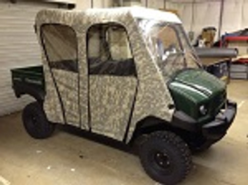 Kawasaki Mule 4010 Transport Full Cabin Cab Enclosure   Custom Made to Order
