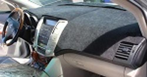 Chevrolet Cavalier 1982-1990 No A/C Brushed Suede Dash Cover Mat Black