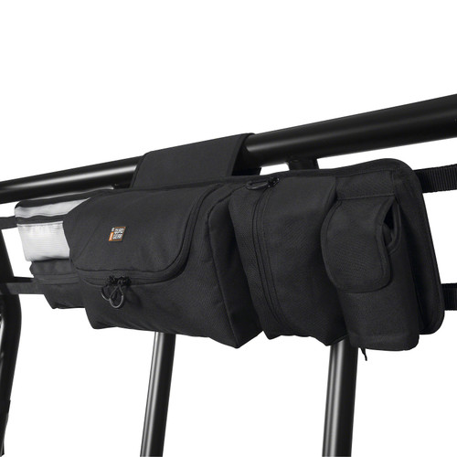 "UTV Roll Cage Organizer Storage Bag Black - Medium 29.5"" W 3.5"" D 8"" H"