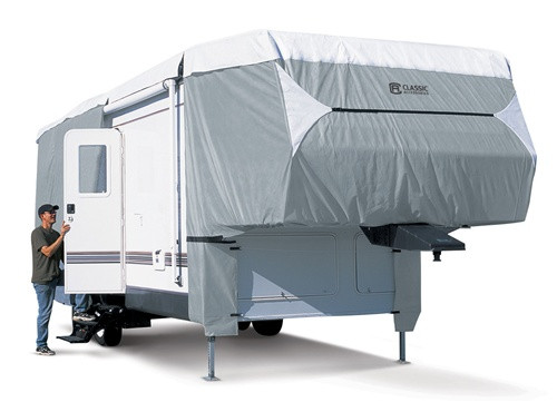 PolyPro III Deluxe 5th Wheel RV Storage Cover 23-26'