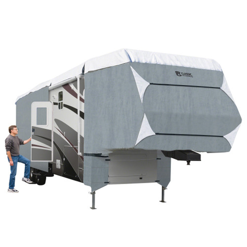 PolyPro III Deluxe Extra Tall 5th Wheel RV Storage Cover 37-41'