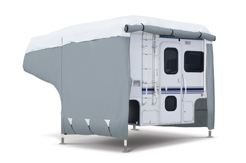 PolyPro III Deluxe Overhead Camper RV Storage Cover 10-12'