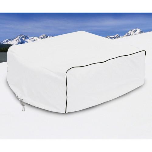 RV A/C Cover, (Duo-Therm, Briskair, Quick Cool) - White