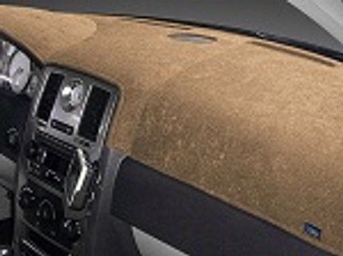 Chevrolet Corsica 1987-1988 No Rear Defrost Brushed Suede Dash Cover Oak