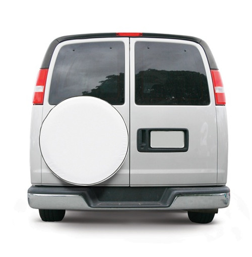 """Custom Fit Spare Tire Cover 28"""" to 29"""" Tall Tire 