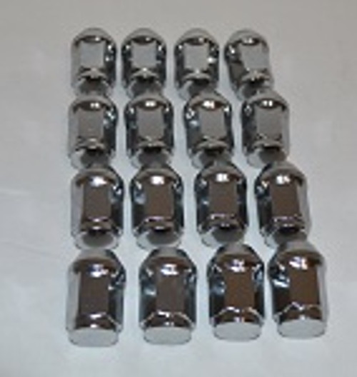 "MadJax Golf Cart 16 Pack 1/2"" x 20 Lug Nuts 