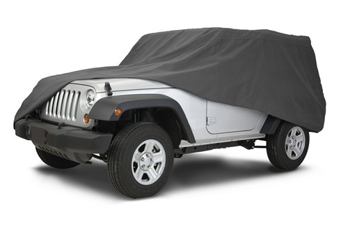 Jeep Wrangler PolyPro 3 Layer Overdrive Car Cover