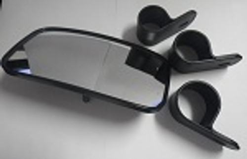 "Cub Cadet Volunteer Universal Rear View Mirror 1.5"" 1.75"" 2"" EMGO 20-64574"